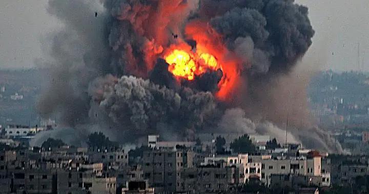 以军疯狂空袭,巴勒斯坦损失惨重,白宫:以色列有权自卫