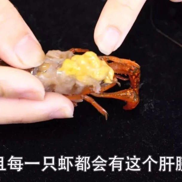 """小龙虾头部到底是""""虾黄""""还是""""虾屎"""",很多人分不清,别再乱吃了"""