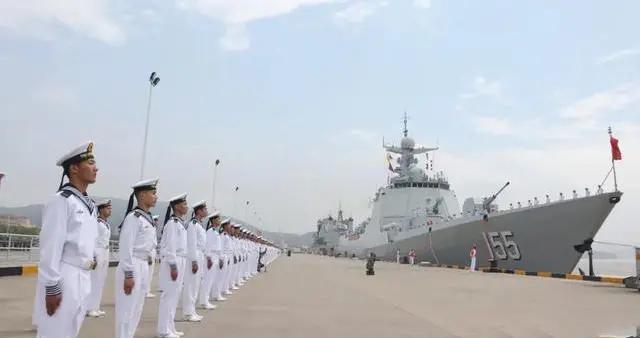 南京舰首次出航亚丁湾,38批护航编队全江苏城市命名,海军正在实力说话