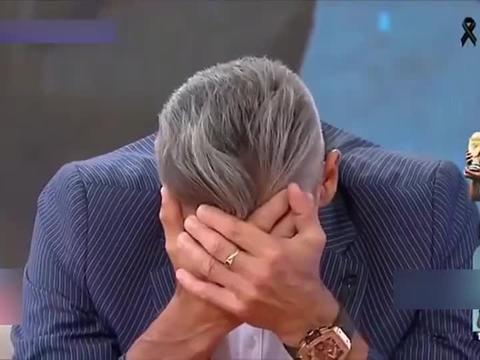 马拉多纳队友在电视上嚎啕大哭
