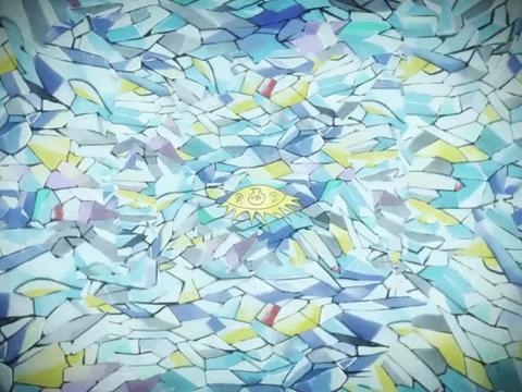 以毕加索作品风格元素为背景的幻想空间