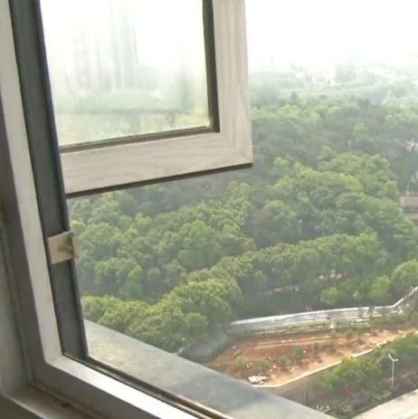 """小区居民楼变""""墓景房"""",业主:之前窗外是绿地"""