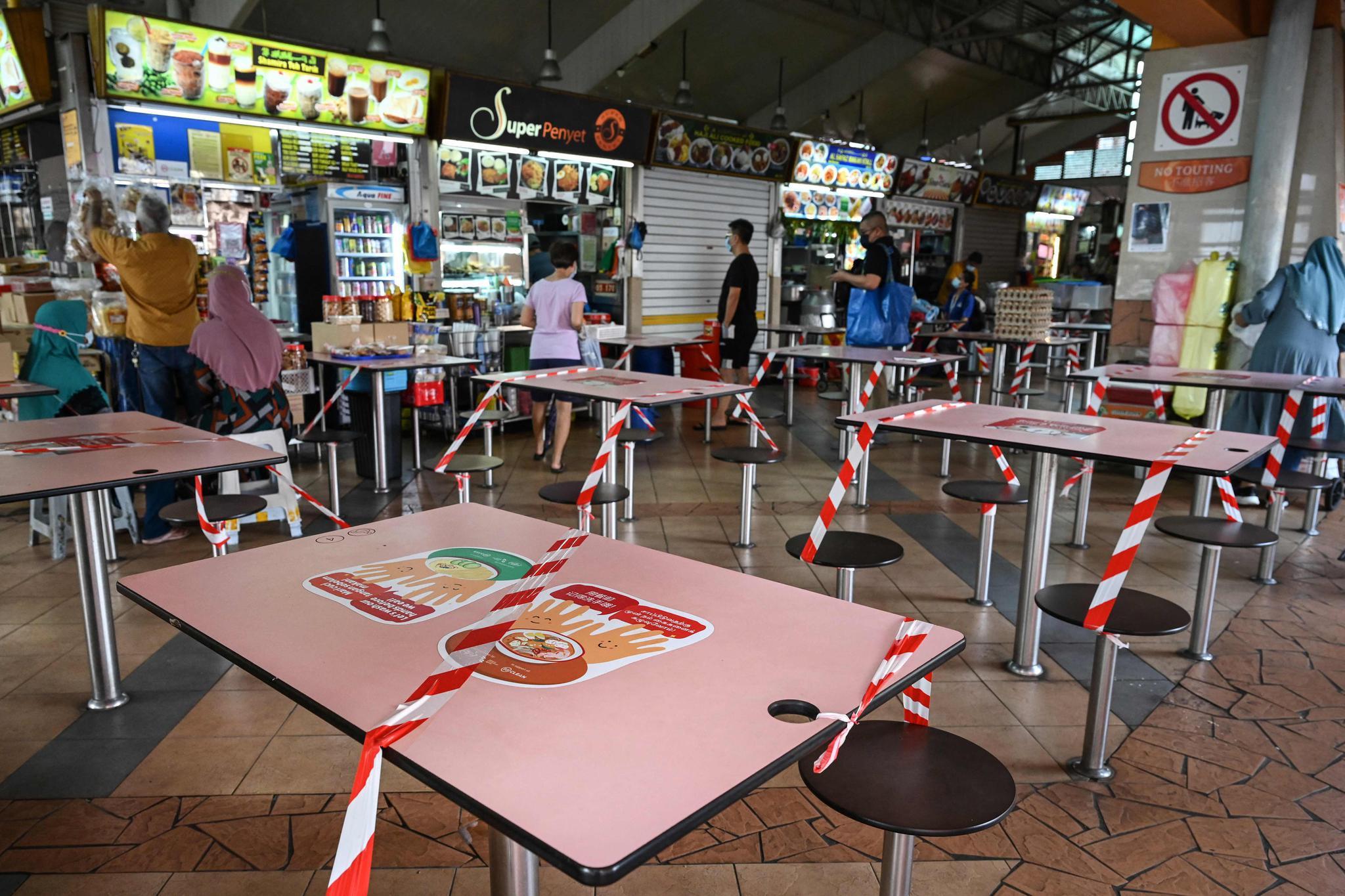 新加坡收紧防疫措施