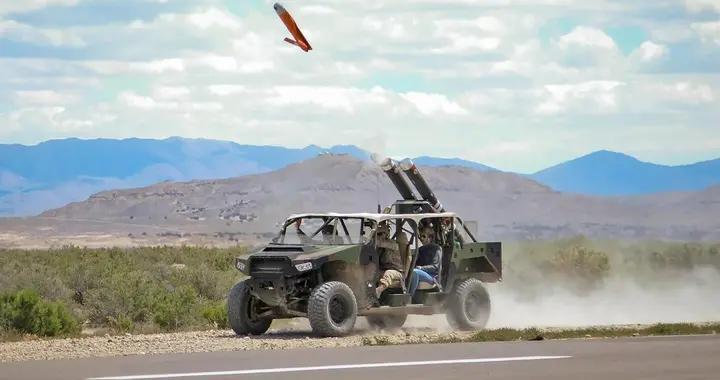 美国陆军被曝光秘密测试无人机发射战车