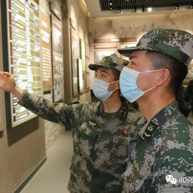 80消息丨大渡河神炮旅参观渤海走廊革命斗争陈列馆