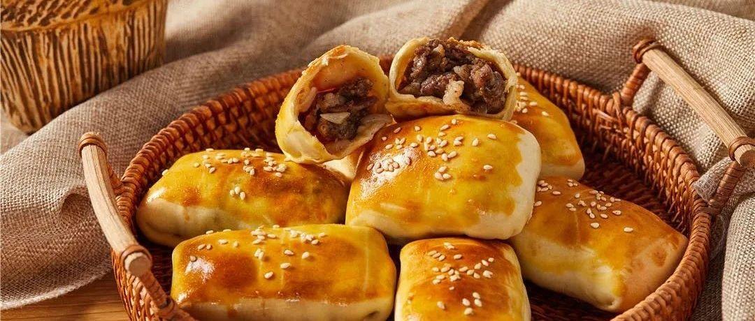 【美食DIY】外壳酥酥脆脆的新疆烤包子,自己做一样是香嫩可口,汁水丰富~