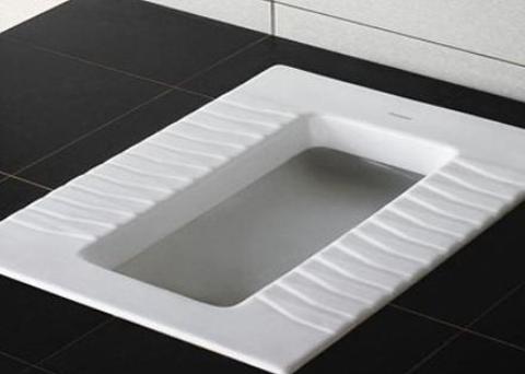 卫生间蹲便器最大的一个疑问:到底哪边才是头?好多人都蹲反了