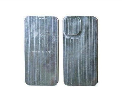 刘海更小,相机模组更突兀,iPhone13金属模板曝光