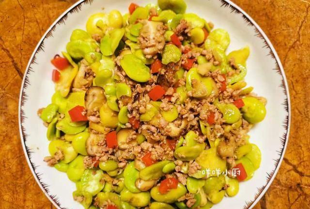 5月正是吃蚕豆的好时候,你试过蚕豆的这种吃法吗,堪称下饭神器
