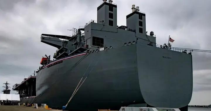 全球800个军事基地还嫌不够,美国海上作战堡垒入列,部署第二岛链