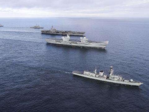 美军携众盟友南海示威,却是各怀鬼胎,谁的戏演得最精彩?