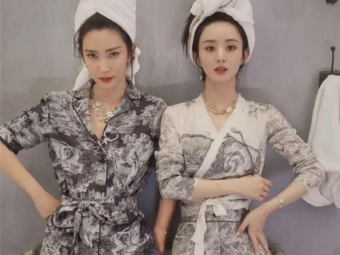 赵丽颖粉色挑染造型曝光,离婚后更加具少女感,时尚表现力却一般