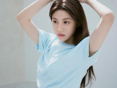 韩国女艺人高允贞未公开杂志写真展健康线条