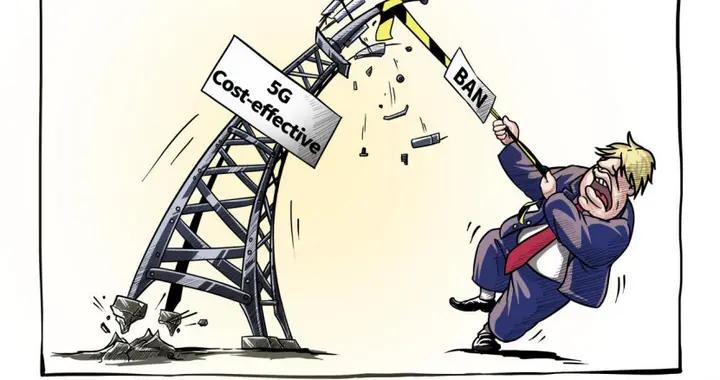 英国则斥128亿拆除华为设备