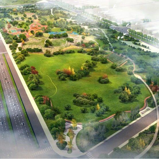 呼和浩特市又一个地标性公园开始建设,快看看在你家附近吗?