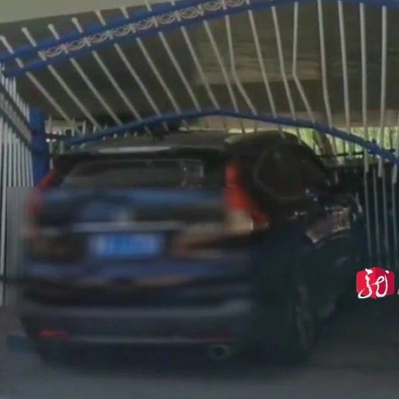哈尔滨男子想找到撞他车的白色SUV!