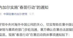 """中国驻塞内加尔使馆:""""春苗行动""""在塞启动实施,中国公民可在当地接种新冠疫苗"""