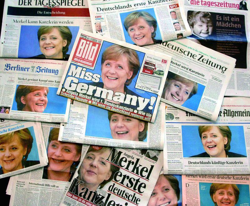 """德国将迎""""后默克尔时代"""" 谁来接任?"""
