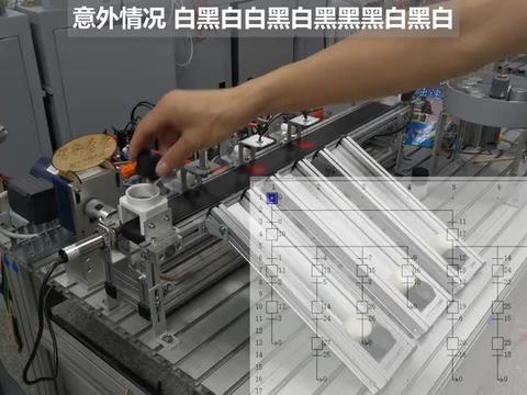 PLC机电一体化分拣,意外情况处理,程序稳定