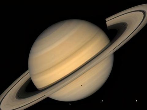 """太阳系第二大行星——土星,下""""钻石雨""""的行星"""