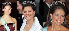 此首饰经瑞典王后修改,成她的得意之作,也是她标志性的珠宝之一