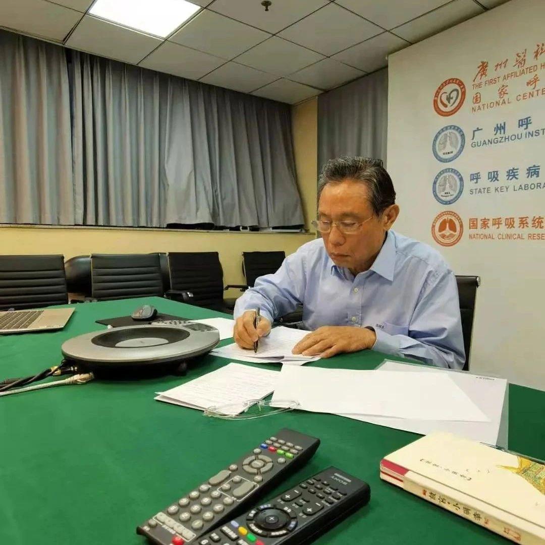 新华社专访钟南山,信息量很大!