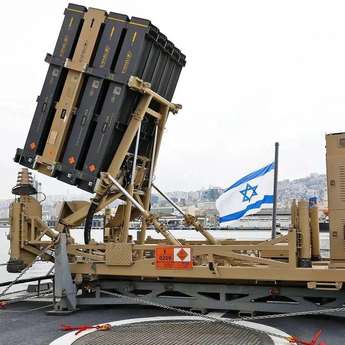 哈马斯瞄准以色列海上油气平台 以军舰发射导弹回击