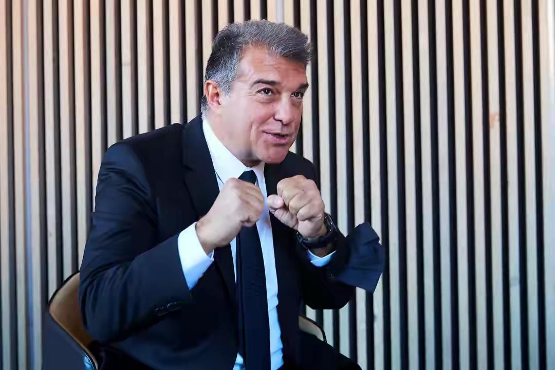 拉波尔塔:一个时代已经结束,我们正在重建巴塞罗那……