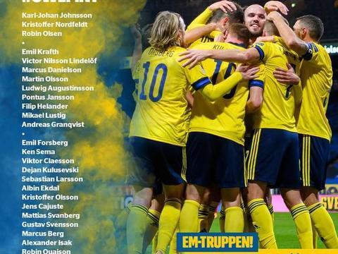 中超2将入选瑞典国家队征战欧洲杯 大连人队内0外援