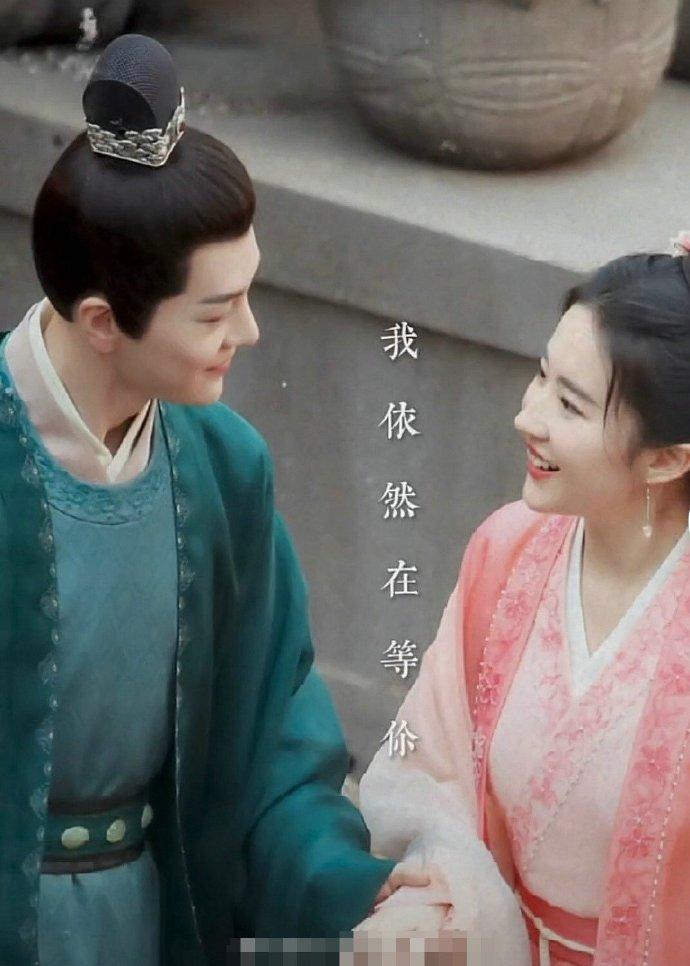 《梦华录》刘亦菲徐海乔路透,帅哥美女站在一起好赏心悦目!