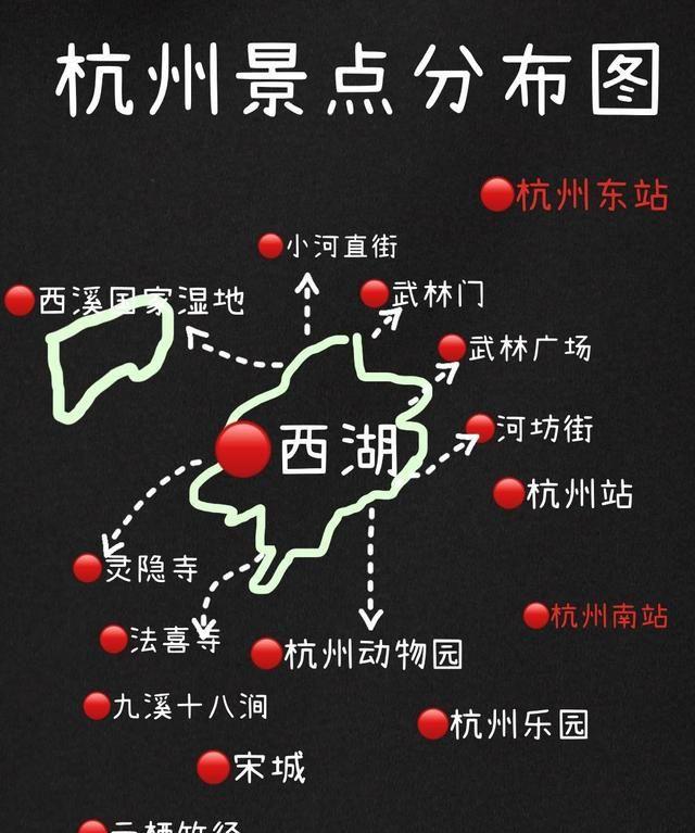杭州旅游行李寄存攻略,西湖十景游玩路线,杭州地铁沿线景点