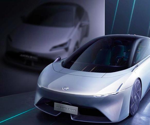 全球最低风阻概念车,广汽埃安新车预告图发布