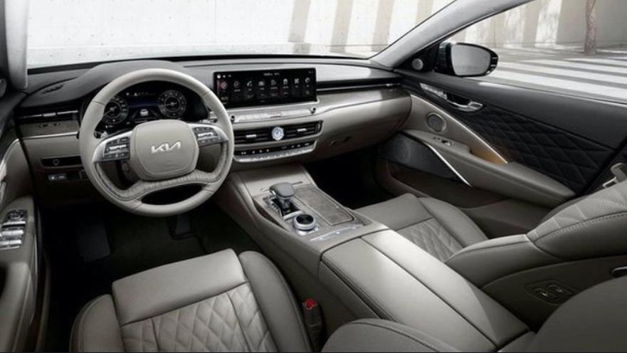 全新起亚K9海外接受预定 搭载V8发动机 豪华程度不输奔驰E级