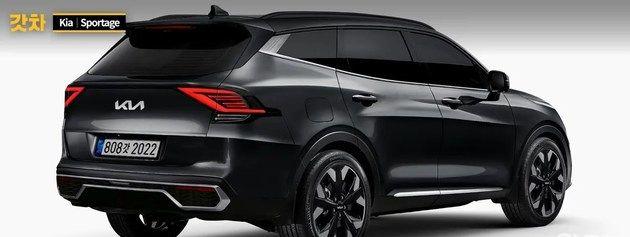 全新起亚Sportage最新渲染图 有望推出插混版车型