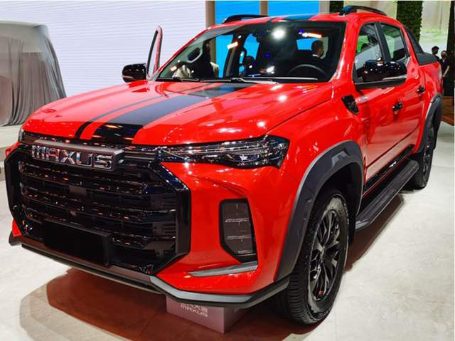 新款上汽大通T70曝光,换装霸气前脸,搭载2.0T柴油国六动力