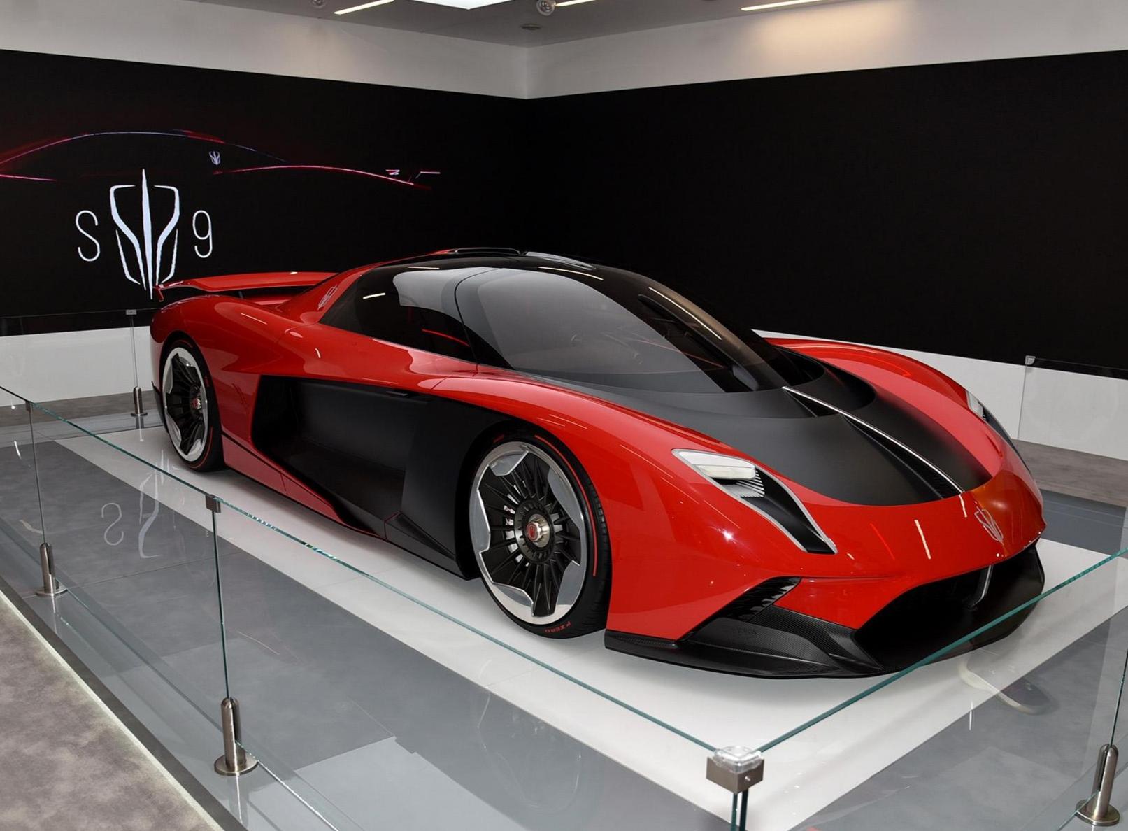 帅气不输法拉利!红旗S9轿跑来袭,搭载4.0T八缸引擎真给力!