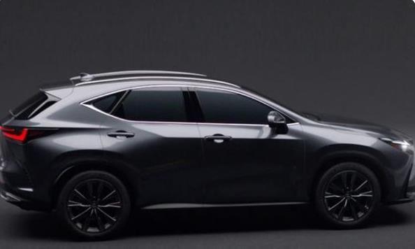 雷克萨斯NX新车实拍,外观升级更亮眼,搭载三款动力系统