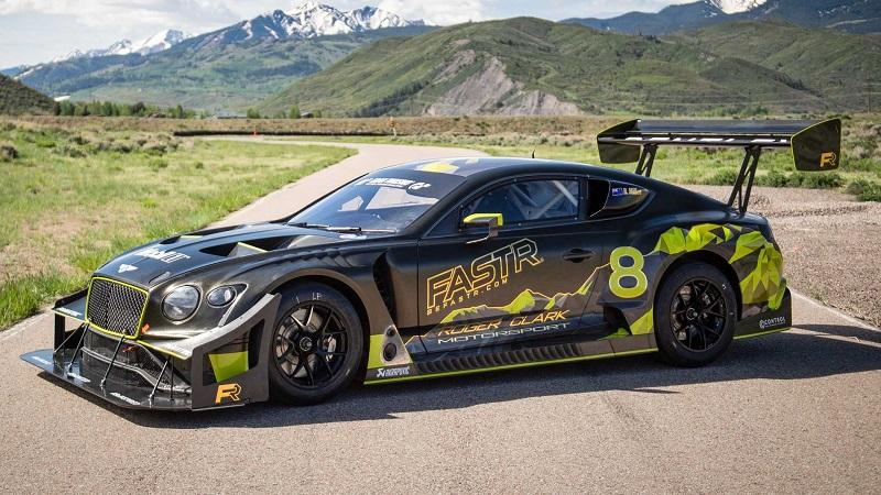 750马力山道猛兽来袭 宾利欧陆GT3 Pikes Peak赛车官图发布