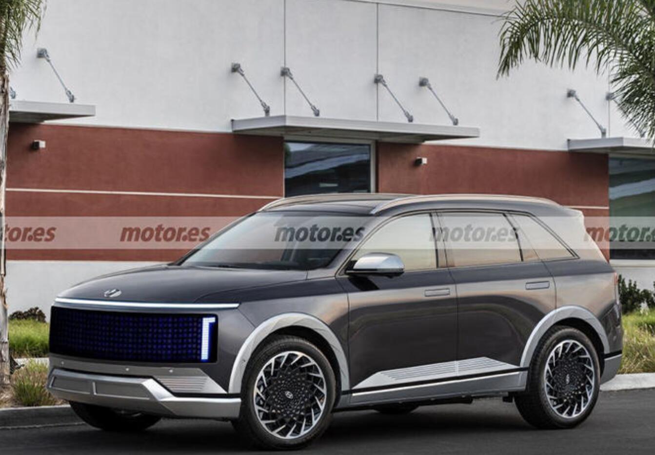 现代IONIQ 7将于2024年发布 定位为纯电大型SUV