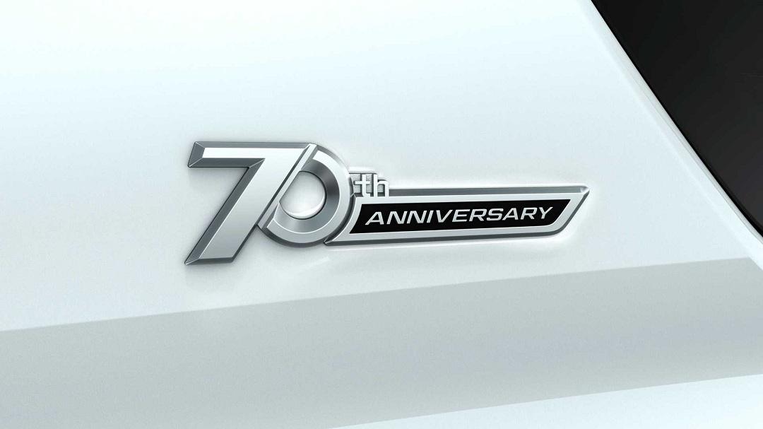 增加专属标识 提供多种车身颜色 丰田普拉多70周年纪念版官图发布