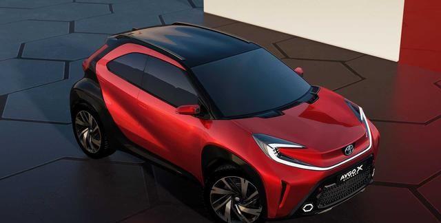 丰田Aygo X跨界量产车或将2022年上市