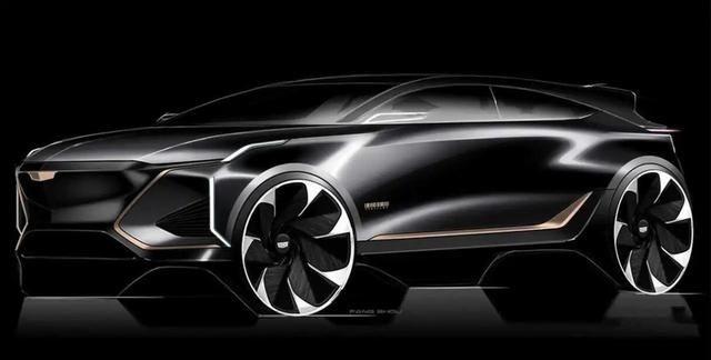 凯迪拉克Lyriq设计图曝光,新车或将2023年上市