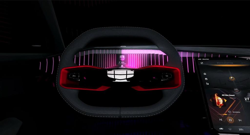 吉利Vision Starburst概念车官图发布,红旗H5-FCEV首发