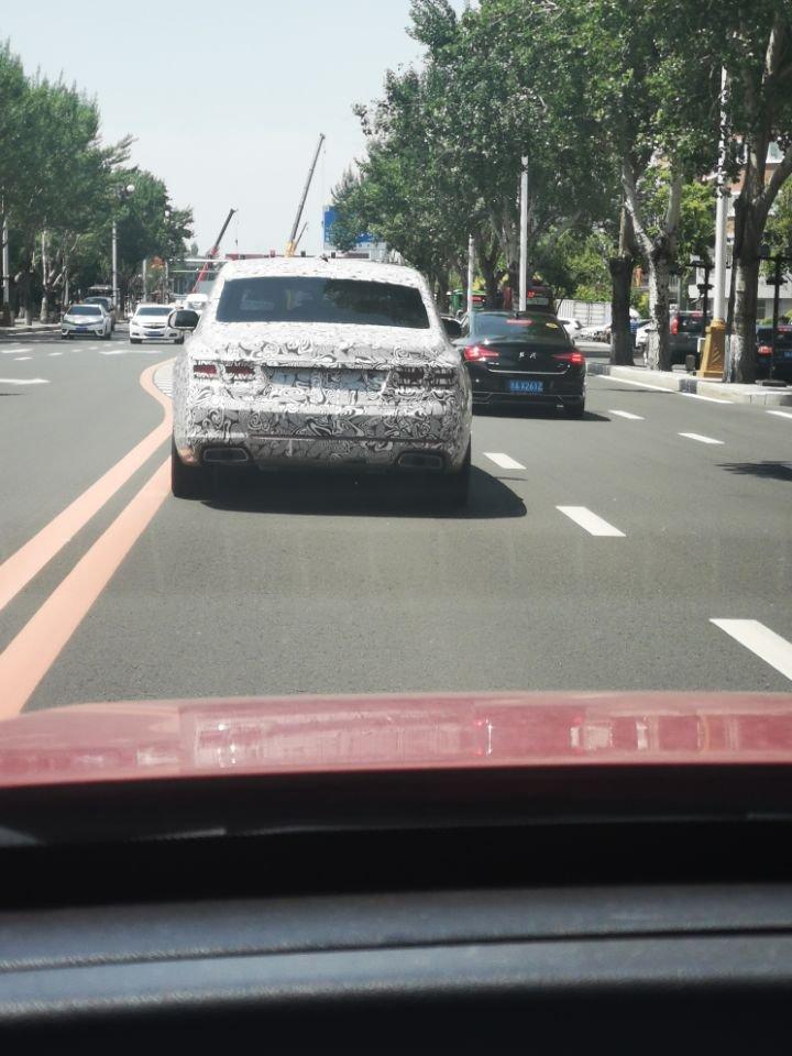 中国的劳斯莱斯——一汽旗舰新车路试,离量产还有多远