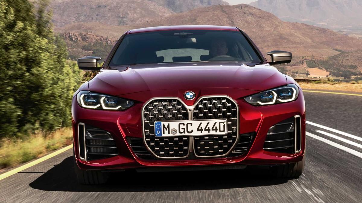 全新宝马4 系 Gran Coupe官图发布