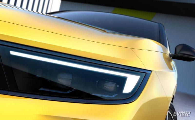 欧宝全新Astra细节图发布 除燃油版外将新增插混车型