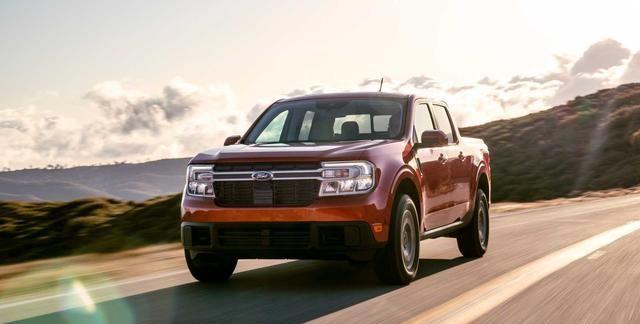 福特推出全新紧凑型Maverick皮卡,海外12.79万元起售