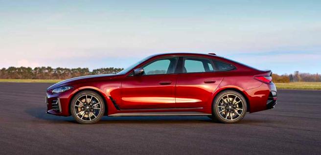 新一代宝马4系Gran Coupe官图发布