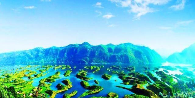 除了浙江有千岛湖之外,湖北也有千岛湖