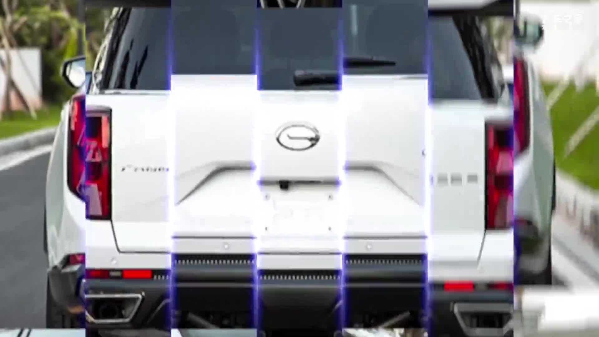 视频:广汽传祺全新GS8实拍 尺寸全面加长 搭载丰田混动